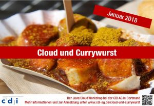 Cloud und Currywurst - Flyer